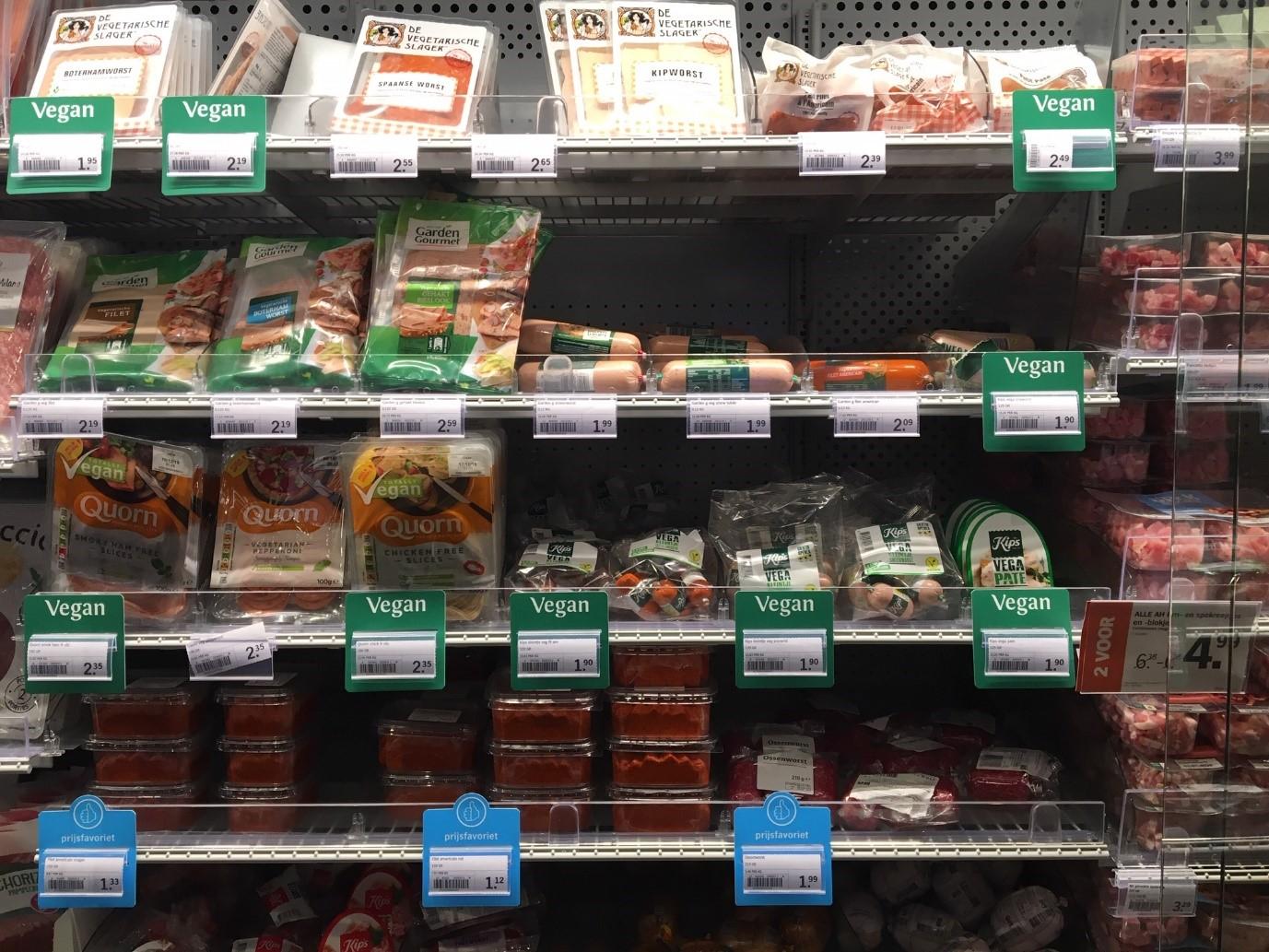 De opmars van vegan producten